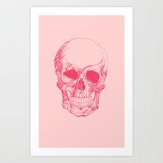 Mr. Skull Art Print