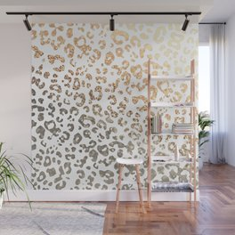 GOLD LEO Wall Mural