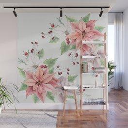 Poinsettia 2 Wall Mural