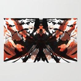 Rorschach Samurai Rug