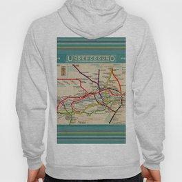 London Undergroud Map 1910 Hoody