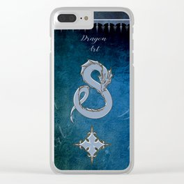 Wonderful chinese dragon Clear iPhone Case
