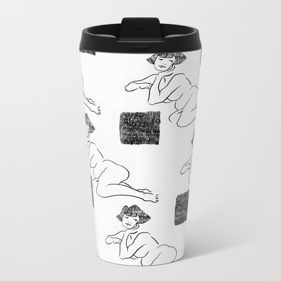 Melancholy Metal Travel Mug