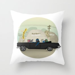 Imperial Coastin' Throw Pillow