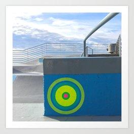 portals of hope bondi beach sydney Art Print