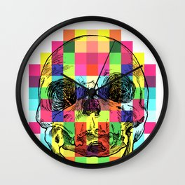 PixelSkull Wall Clock