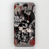 pulp fiction iPhone & iPod Skins featuring Pulp Fiction by AWAL