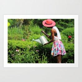 Nurture Nature  Art Print