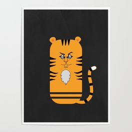 The Mighty Tiger Poster