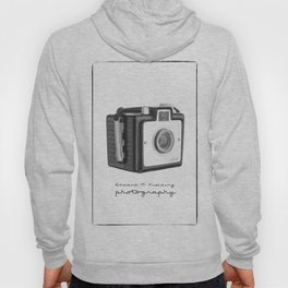 Old Vintage Kodak Brownie Film Camera Hoody