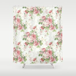 SOUTHERN BELLE FLORAL  Shower Curtain