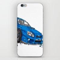 subaru iPhone & iPod Skins featuring Subaru Impreza by Claeys Jelle Automotive Artwork