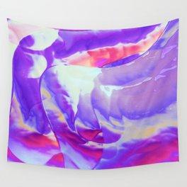 Breezy purple Wall Tapestry