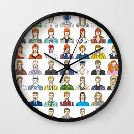 David Bowie – Head and Shoulders Above The Rest Wall Clock