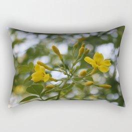 Shaded Carolina Jessamine Rectangular Pillow