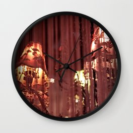 Torn and Frayed Wall Clock