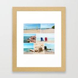 AFE Summer Vibes Framed Art Print