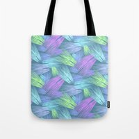 grass Tote Bags featuring Grass by Emerald Vallee