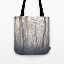 misty forest Tote Bag