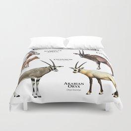 Oryx of the World Duvet Cover