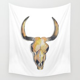 Cow Skull Wall Tapestry