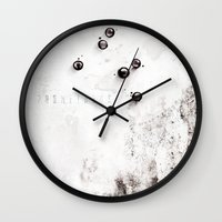 prometheus Wall Clocks featuring Prometheus alternative movie poster by LionDsgn