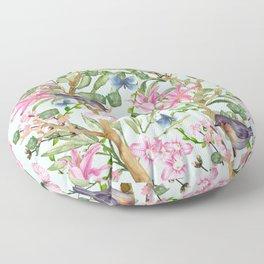 Spring Chinoiserie Floor Pillow