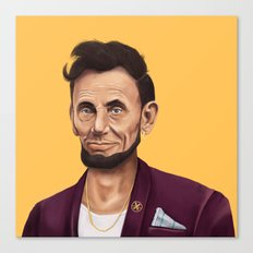 Hipstory -  Abraham Lincoln Canvas Print