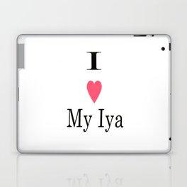 I Heart My Iya Laptop & iPad Skin