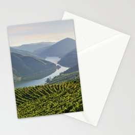 Vineyards and a chapel in the Douro Valley, Portugal Stationery Cards
