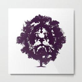 LION TREE Metal Print