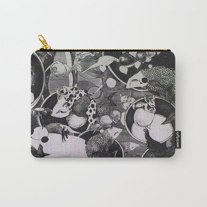 Thoughts II Carry-All Pouch