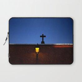 Cross and lights Laptop Sleeve