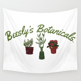 Beesly's Botanicals Wall Tapestry