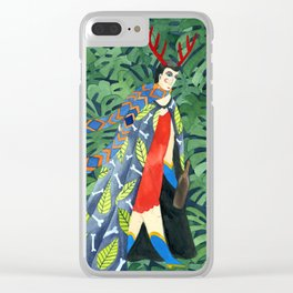 The troubled prince of the greenhouse Clear iPhone Case