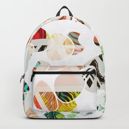 Summer In The City Of Big Dreams #graphicdesign Backpack