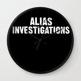 Jessica Jones - Alias investigations Wall Clock
