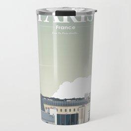 Alone In Paris - Paris s'éveille (Paris wake up) Travel Mug