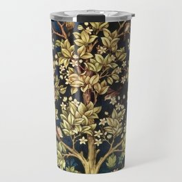 William Morris Tree Of Life Travel Mug
