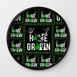 Home Grown Wall Clock