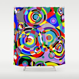 Raindrops by Bruce Gray Shower Curtain