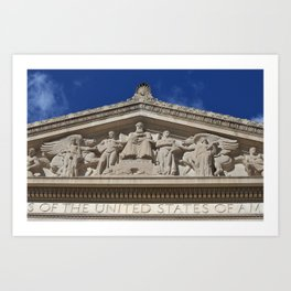 The National Archives Art Print