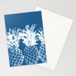 Pineapple blues Stationery Cards