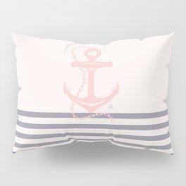 AFE Pink Nautical Anchor  Pillow Sham