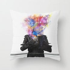 Glitch Mob Throw Pillow
