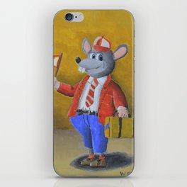 College Rat iPhone Skin