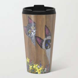 Three Little Kitties Travel Mug