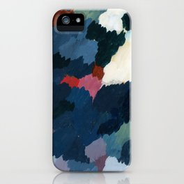 Abstract meditation forest 1 iPhone Case