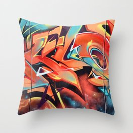 Colors Move Throw Pillow