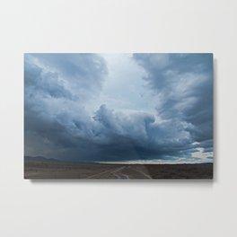 Passing storm, Ross River dam, Townsville. Metal Print